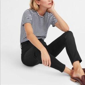 [Everlane] Black High Rise Ankle Skinny Jeans